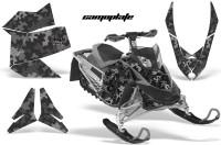 Skidoo-REV-XP-AMR-Graphics-Kit-BLACK-Camoplate