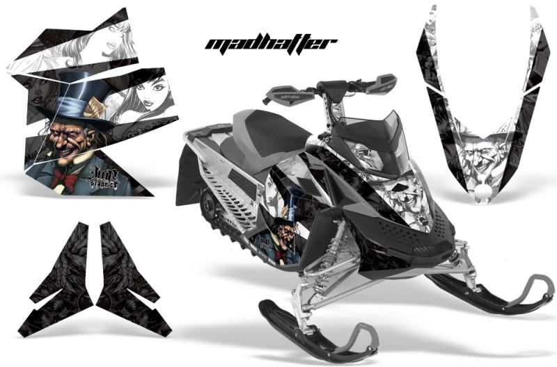 Skidoo-REV-XP-AMR-Graphics-Kit-BLACK-Madhatter