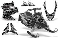 Skidoo-REV-XP-AMR-Graphics-Kit-BLACK-Silverhaze