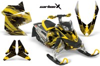 Skidoo-REV-XP-AMR-Graphics-Kit-Skidoo-REV-XP-CarbonX-MustardYellow