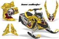 Skidoo-REV-XP-AMR-Graphics-Kit-YELLOW-BoneCollector