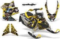 Skidoo-REV-XP-AMR-Graphics-Kit-YELLOW-Madhatter