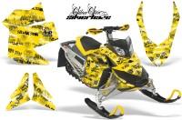 Skidoo-REV-XP-AMR-Graphics-Kit-YELLOW-Silverhaze