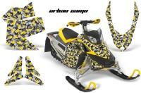 Skidoo-REV-XP-AMR-Graphics-Kit-YELLOW-UrbanCamo