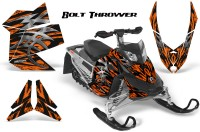 Skidoo-REV-XP-CreatorX-Graphics-Kit-Bolt-Thrower-Orange