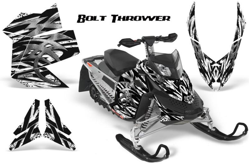 Skidoo-REV-XP-CreatorX-Graphics-Kit-Bolt-Thrower-White