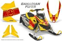 Skidoo-REV-XP-CreatorX-Graphics-Kit-Canadian-Flyer-Red-Yellow