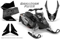 Skidoo-REV-XP-CreatorX-Graphics-Kit-Canadian-Flyer-Silver-Black