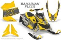 Skidoo-REV-XP-CreatorX-Graphics-Kit-Canadian-Flyer-Silver-Yellow