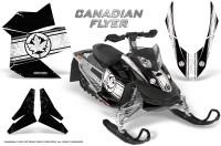 Skidoo-REV-XP-CreatorX-Graphics-Kit-Canadian-Flyer-White-Black