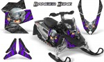 Skidoo REV XP CreatorX Graphics Kit Danger Zone Purple 150x90 - Ski-Doo Rev XP Graphics