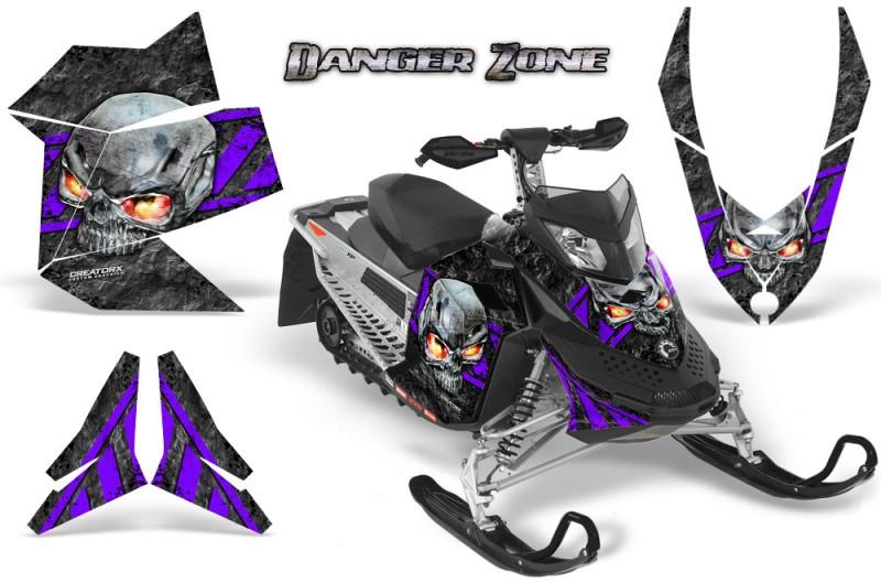 Skidoo-REV-XP-CreatorX-Graphics-Kit-Danger Zone-Purple