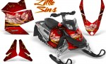 Skidoo REV XP CreatorX Graphics Kit Little Sins Red 150x90 - Ski-Doo Rev XP Graphics
