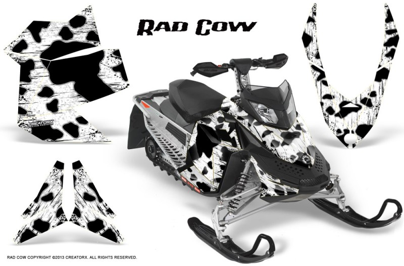 Skidoo-REV-XP-CreatorX-Graphics-Kit-Rad-Cow-White