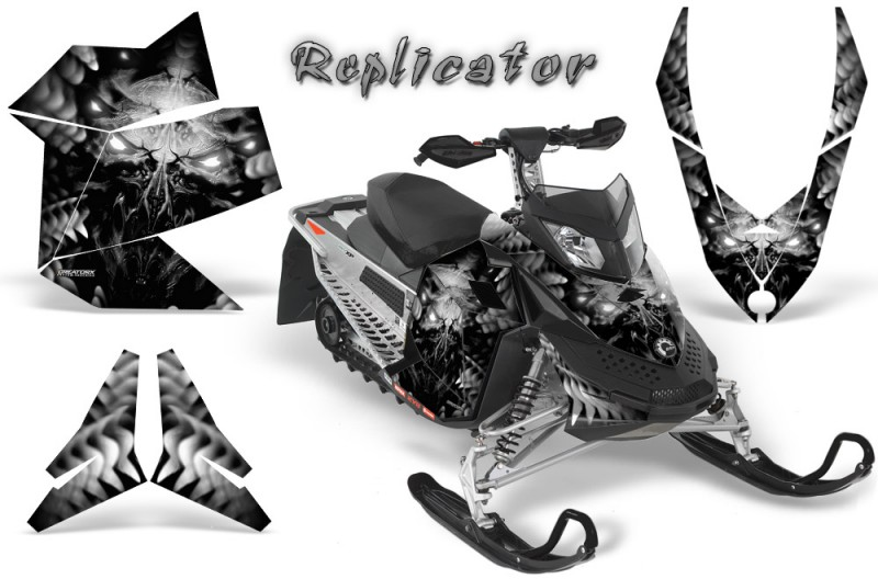 Skidoo-REV-XP-CreatorX-Graphics-Kit-Replicator-Silver