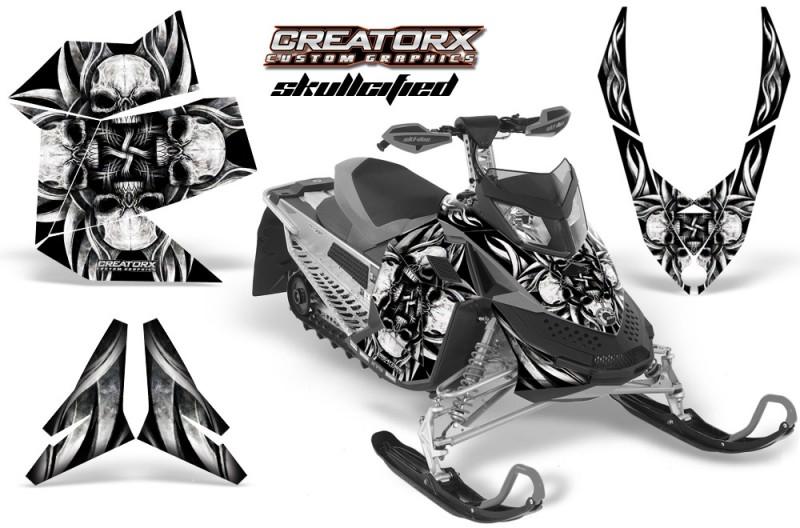 Skidoo-REV-XP-CreatorX-Graphics-Kit-Skullcified-Silver