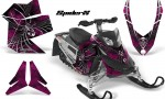 Skidoo REV XP CreatorX Graphics Kit SpiderX Pink 150x90 - Ski-Doo Rev XP Graphics