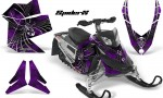 Skidoo REV XP CreatorX Graphics Kit SpiderX Purple 150x90 - Ski-Doo Rev XP Graphics