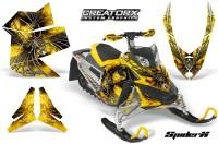 Skidoo-REV-XP-CreatorX-Graphics-Kit-SpiderX-Yellow