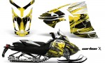 Skidoo Rev XR AMR Graphics Kit Wrap Decal CX Y 150x90 - Ski-Doo Can-Am Rev XR Graphics Kit
