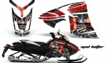 Skidoo Rev XR AMR Graphics Kit Wrap Decal Mad Hatter K R 150x90 - Ski-Doo Can-Am Rev XR Graphics Kit