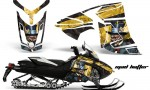 Skidoo Rev XR AMR Graphics Kit Wrap Decal Mad Hatter K Y 150x90 - Ski-Doo Can-Am Rev XR Graphics Kit