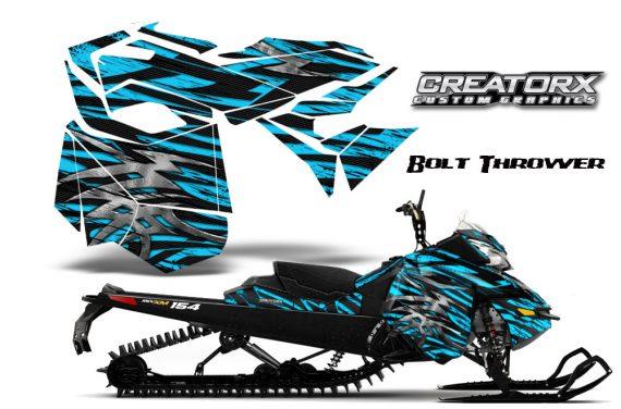 Skidoo RevXM CreatorX Graphics Kit Bolt Thrower BlueIce BB 570x376 - Ski-Doo Can-Am Rev XM 2013-2017 Graphics