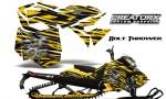 Skidoo RevXM CreatorX Graphics Kit Bolt Thrower Yellow YB 150x90 - Ski-Doo Can-Am Rev XM 2013-2017 Graphics