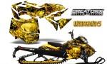 Skidoo RevXM CreatorX Graphics Kit Inferno Yellow 150x90 - Ski-Doo Can-Am Rev XM 2013-2017 Graphics