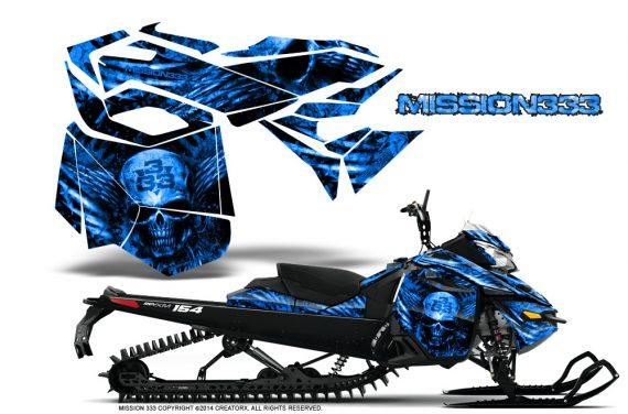 Skidoo-RevXM-CreatorX-Graphics-Kit-Mission333-Blue