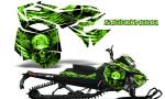 Skidoo RevXM CreatorX Graphics Kit Mission333 Green 150x90 - Ski-Doo Can-Am Rev XM 2013-2017 Graphics
