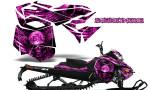 Skidoo RevXM CreatorX Graphics Kit Mission333 Pink 150x90 - Ski-Doo Can-Am Rev XM 2013-2017 Graphics