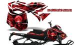 Skidoo RevXM CreatorX Graphics Kit Mission333 Red 150x90 - Ski-Doo Can-Am Rev XM 2013-2017 Graphics