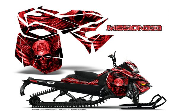 Skidoo-RevXM-CreatorX-Graphics-Kit-Mission333-Red