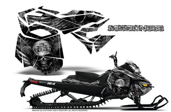 Skidoo-RevXM-CreatorX-Graphics-Kit-Mission333-Silver