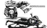 Skidoo RevXM CreatorX Graphics Kit Mission333 White 150x90 - Ski-Doo Can-Am Rev XM 2013-2017 Graphics