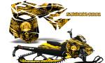 Skidoo RevXM CreatorX Graphics Kit Mission333 Yellow 150x90 - Ski-Doo Can-Am Rev XM 2013-2017 Graphics