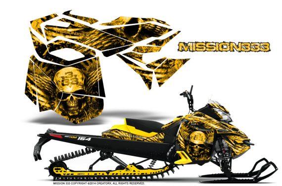 Skidoo-RevXM-CreatorX-Graphics-Kit-Mission333-Yellow