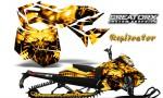 Skidoo RevXM CreatorX Graphics Kit Replicator Yellow YB 150x90 - Ski-Doo Can-Am Rev XM 2013-2017 Graphics