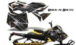 Skidoo RevXM CreatorX Graphics Kit Rock n Bolts YB 150x90 - Ski-Doo Can-Am Rev XM 2013-2017 Graphics