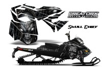 Skidoo-RevXM-CreatorX-Graphics-Kit-Skull-Chief-Silver