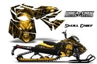 Skidoo-RevXM-CreatorX-Graphics-Kit-Skull-Chief-Yellow-YB