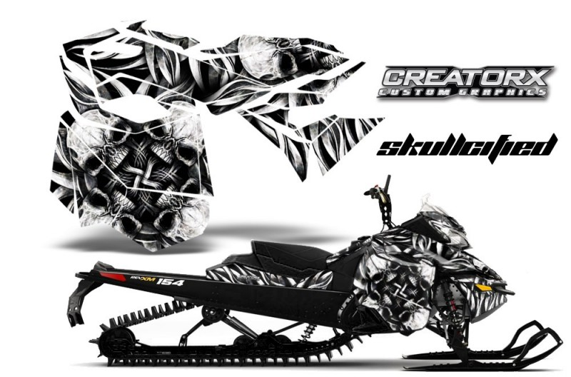 Skidoo-RevXM-CreatorX-Graphics-Kit-Skullcified-Silver-BB