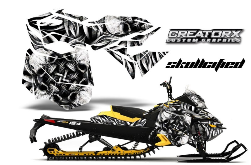 Skidoo-RevXM-CreatorX-Graphics-Kit-Skullcified-Silver-YB