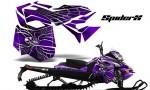 Skidoo RevXM CreatorX Graphics Kit SpiderX Purple 150x90 - Ski-Doo Can-Am Rev XM 2013-2017 Graphics