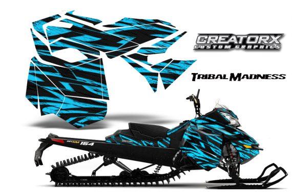 Skidoo RevXM CreatorX Graphics Kit Tribal Madness BlueIce BB 570x376 - Ski-Doo Can-Am Rev XM 2013-2017 Graphics