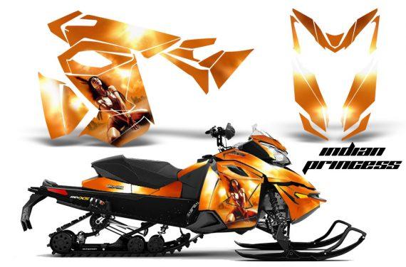 Skidoo RevXS CreatorX Graphics Kit Indian Princess 570x376 - Ski-Doo Rev XS MXZ Renegade 2013-2018 Graphics