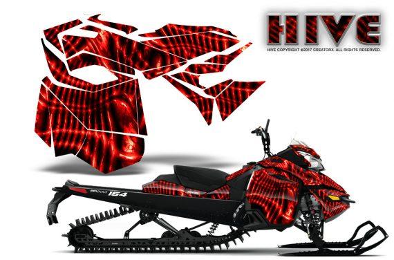 Skidoo_RevXM_CreatorX_Graphics_Kit_Hive_Red