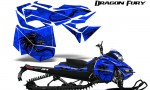Skidoo RevXM Graphics Kit Dragon Fury Blue Blue 150x90 - Ski-Doo Can-Am Rev XM 2013-2017 Graphics