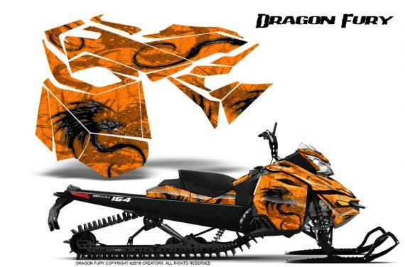 Skidoo_RevXM_Graphics_Kit_Dragon_Fury_Orange_Orange